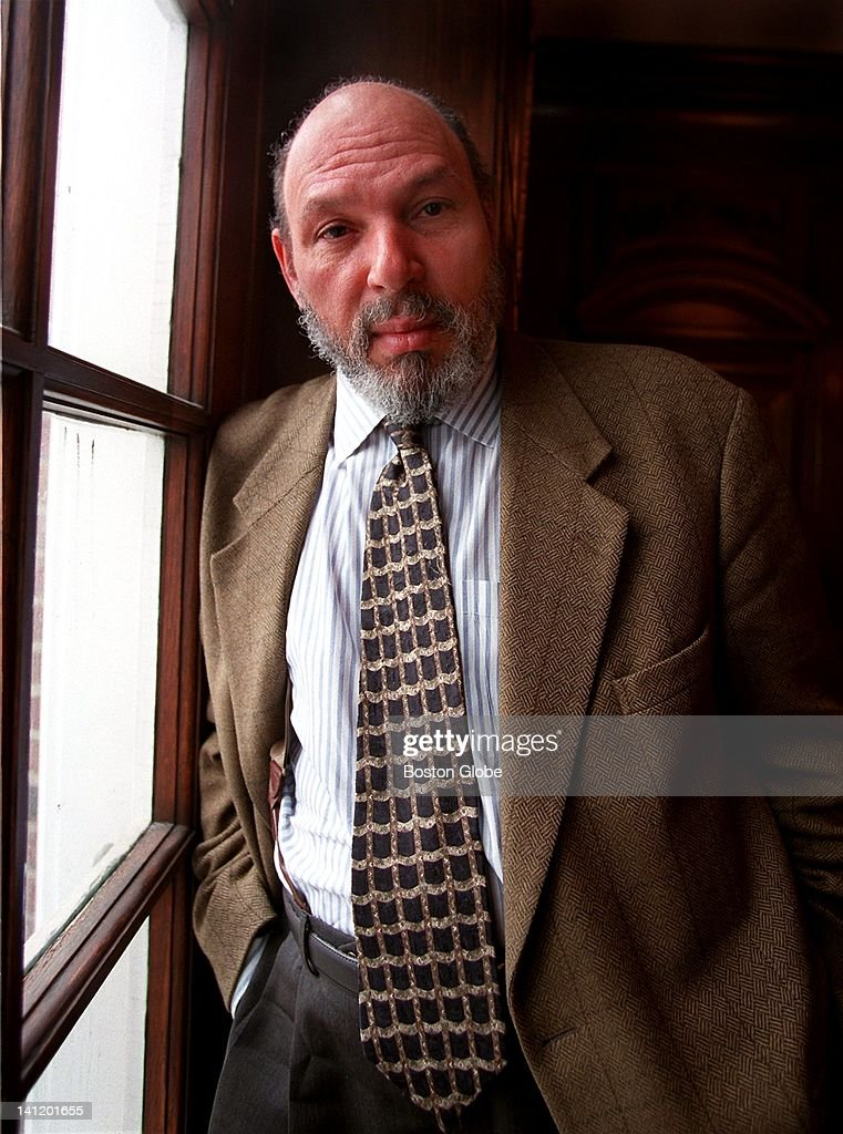 Playwright August Wilson poses in Hanover, N.H. on Feb. 18, 1998.