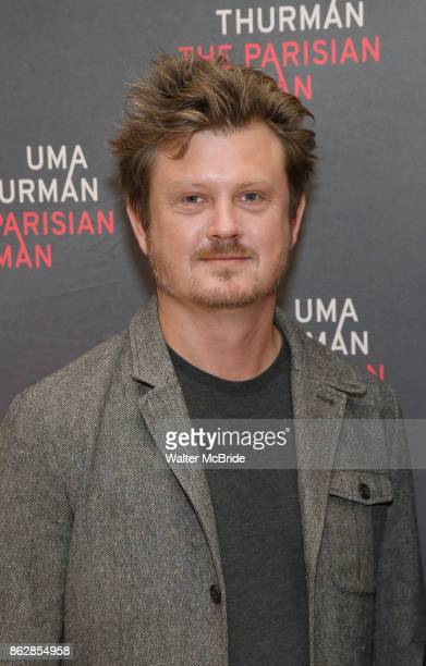 Playwright Beau Willimon attends the Meet Greet Photo Call for the cast of Broadway's 'The Parisian Woman' at the New 42nd Street Studios on October...