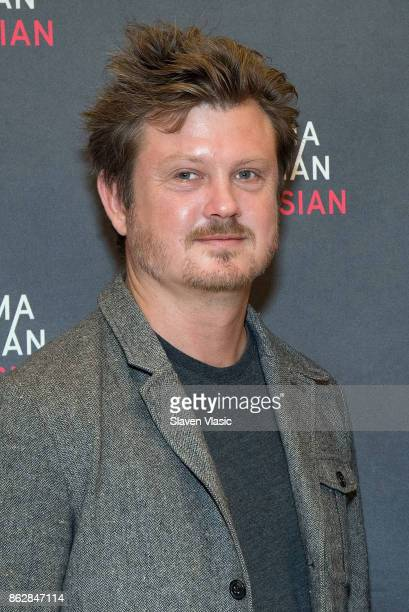 Playwright Beau Willimon attends 'The Parisian Woman' Press Meet Greet at The New 42nd Street Studios on October 18 2017 in New York City
