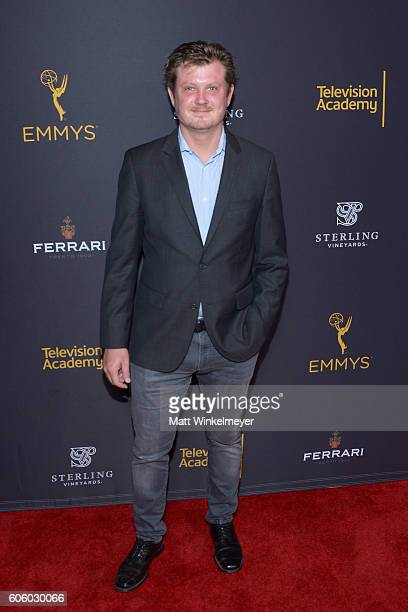 Playwright Beau Willimon attends the Television Academy hosts reception for EmmyNominated producers at Montage Beverly Hills on September 15 2016 in...