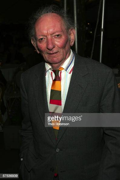 Playwright Brian Friel attends the Broadway Opening of 'Faith Healer' After Party at Bryant Park Grill on May 4 2006 in New York City