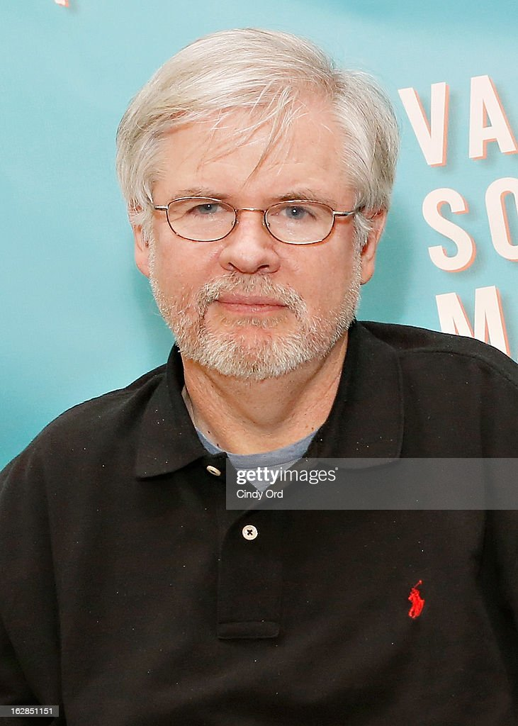 Playwright Christopher Durang attends the 'Vanya And Sonia And Masha And Spike' Broadway Press Preview at The New 42nd Street Studios on February 28, 2013 in New York City.