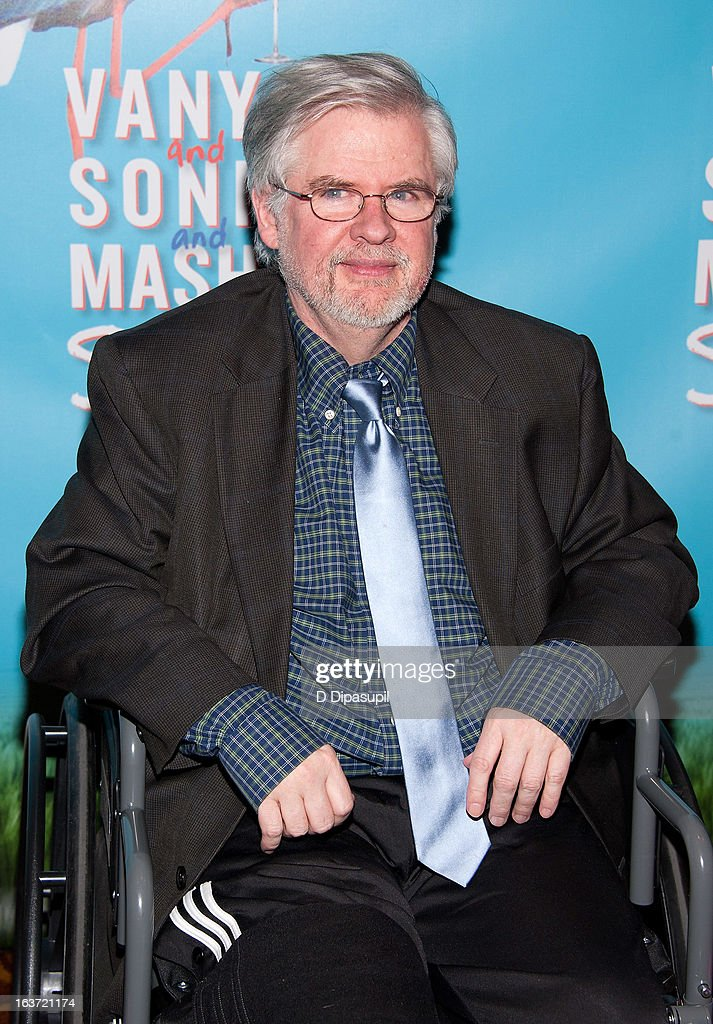 Playwright Christopher Durang attends the 'Vanya And Sonia And Masha And Spike' Broadway Opening Night After Party at Gotham Hall on March 14, 2013 in New York City.