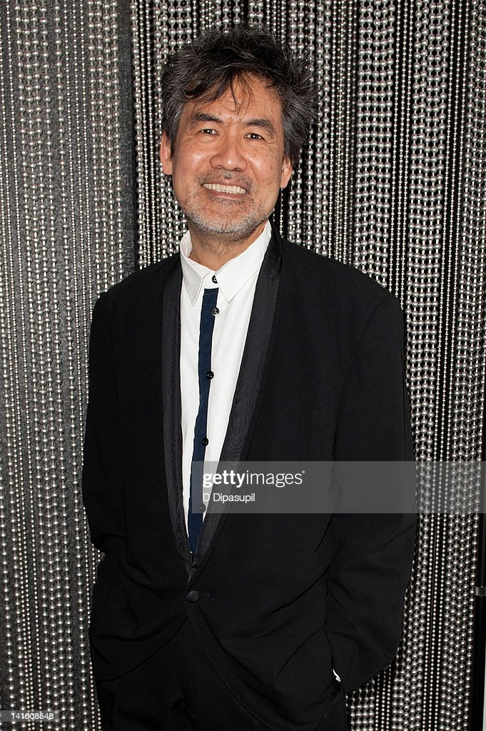 Playwright David Henry Hwang attends 'Legacy And Homecoming' the Pan Asian Repertory's 35th Anniversary Gala at The Edison Ballroom on March 19, 2012 in New York City.