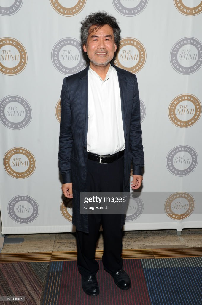 Playwright David Henry Hwang attends The 2013 Steinberg Playwright 'Mimi' Awards presented by The Harold and Mimi Steinberg Charitable Trust at Lincoln Center Theater on November 18, 2013 in New York City.