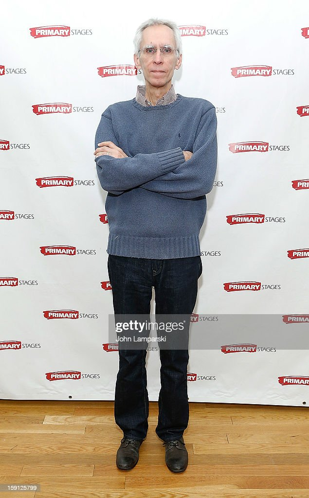 Playwright David Ives attends the 'All In The Timing' Press Preview at Primary Stages Rehearsal Studio on January 8, 2013 in New York City.