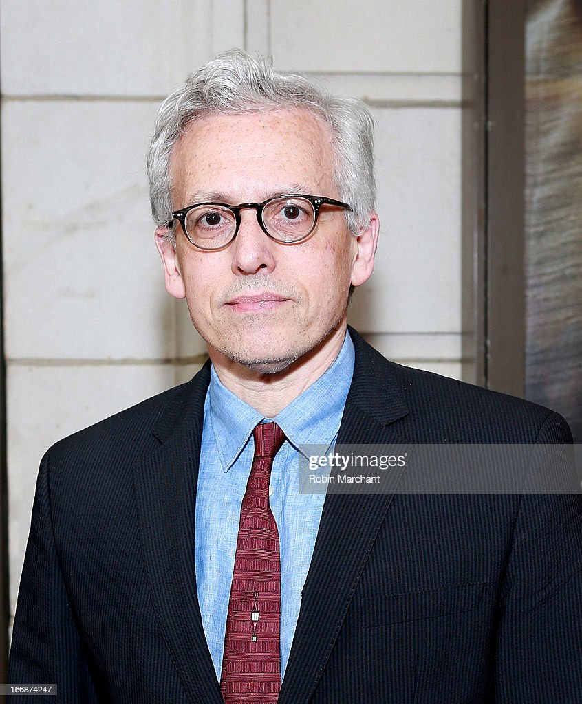 Playwright Donald Margulies attends the 'The Assembled Parties' opening night at Samuel J. Friedman Theatre on April 17, 2013 in New York City.