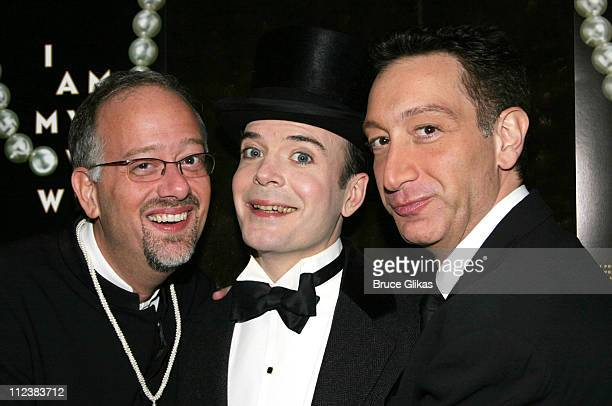 Playwright Doug Wright star Jefferson Mays and Director Moises Kaufman