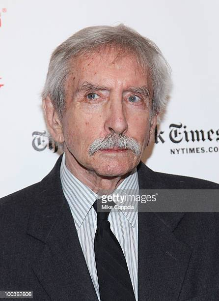 Playwright Edward Albee arrives at the 55th Annual Drama Desk Awards at the FH LaGuardia Concert Hall at Lincoln Center on May 23 2010 in New York...