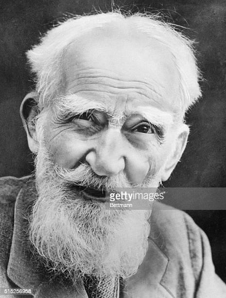 Playwright George Bernard Shaw