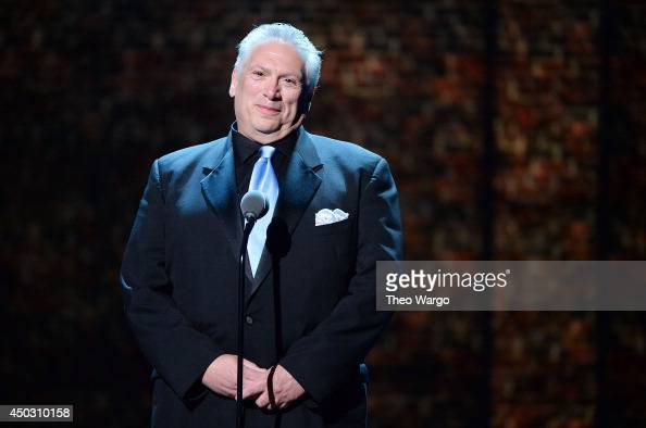 Playwright Harvey Fierstein speaks onstage during the 68th Annual Tony Awards at Radio City Music Hall on June 8 2014 in New York City