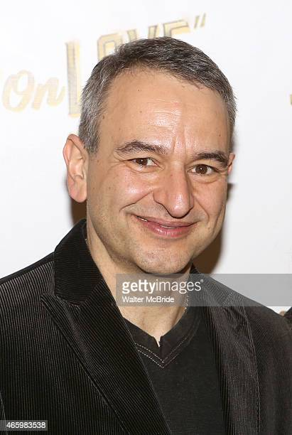 Playwright Joe DiPietro attends the 'Living on Love' photo call at the Empire Hotel on March 12 2015 in New York City
