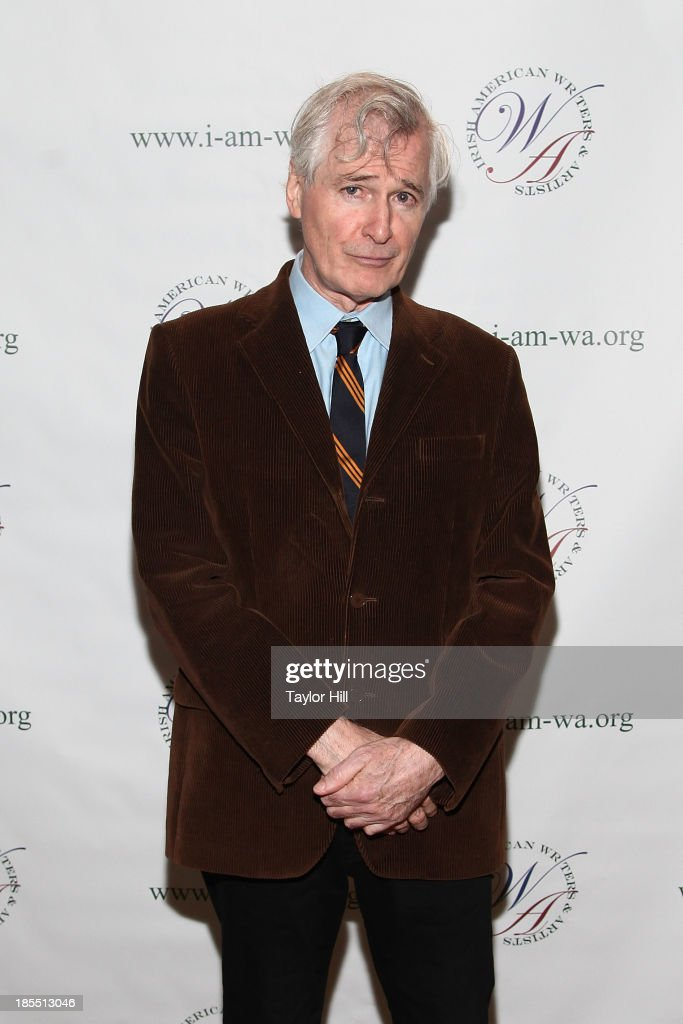 Playwright <a gi-track='captionPersonalityLinkClicked' href=/galleries/search?phrase=John+Patrick+Shanley&family=editorial&specificpeople=213726 ng-click='$event.stopPropagation()'>John Patrick Shanley</a> attends the 2013 Eugene O'Neill Lifetime Achievement Award gala at The Manhattan Club at Rosie O'Grady's on October 21, 2013 in New York City.