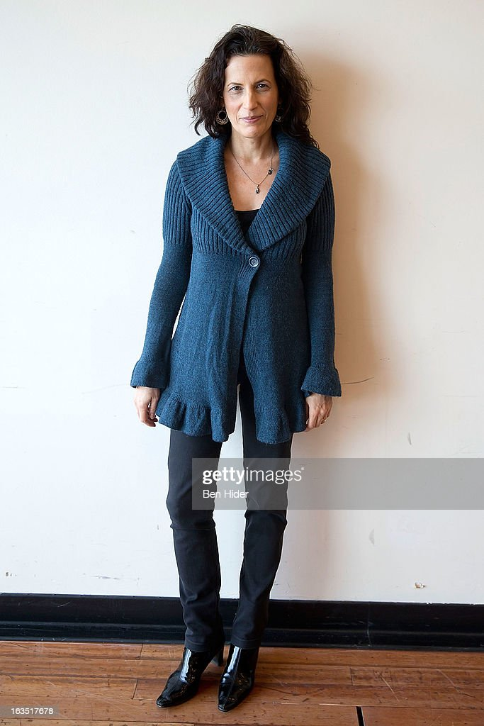 Playwright Kara Manning attends the 'Sleeping Rough' Cast Photo Call at Playwrights Horizon's North Rehearsal Studio on March 11, 2013 in New York City.