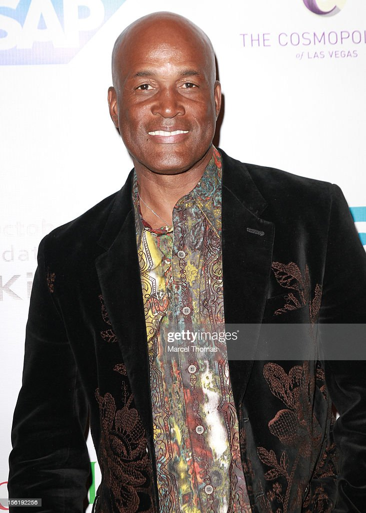 Playwright <a gi-track='captionPersonalityLinkClicked' href=/galleries/search?phrase=Kenny+Leon&family=editorial&specificpeople=234439 ng-click='$event.stopPropagation()'>Kenny Leon</a> attends the 8th All Star Celebrity Classic benefiting the Mr October Foundation for Kids at Cosmopolitan Hotel on November 11, 2012 in Las Vegas, Nevada.