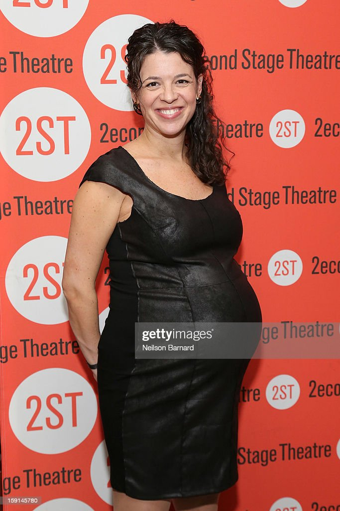 Playwright Quiara Alegria Hudes attends the 'Water By The Spoonful' Opening Night Celebration at Dave & Buster's Time Square on January 8, 2013 in New York City.