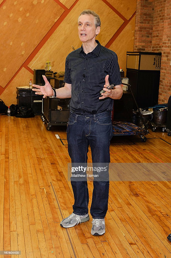 Playwright Rick Elice attends the press preview of new cast of 'Peter And The Starcatcher' at Gibney Dance Center on February 27, 2013 in New York City.