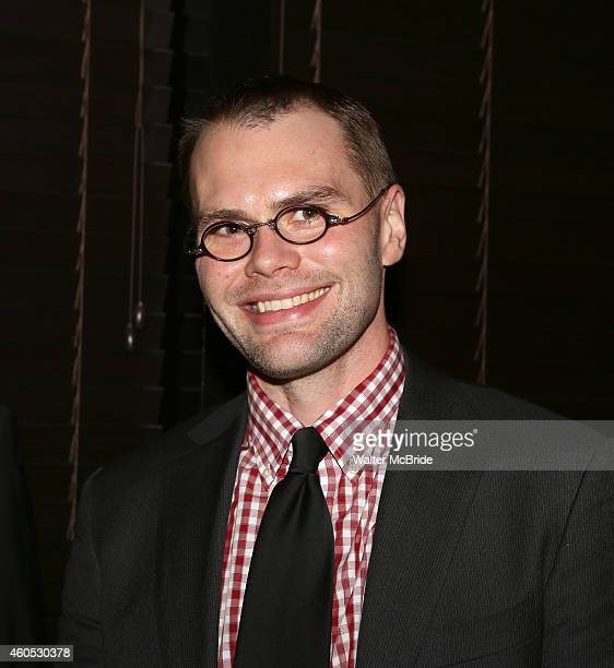 Playwright Samuel D Hunter attends the Opening Night After Party for 'Pocatello' at Heartland Brewery on December 15 2014 in New York City