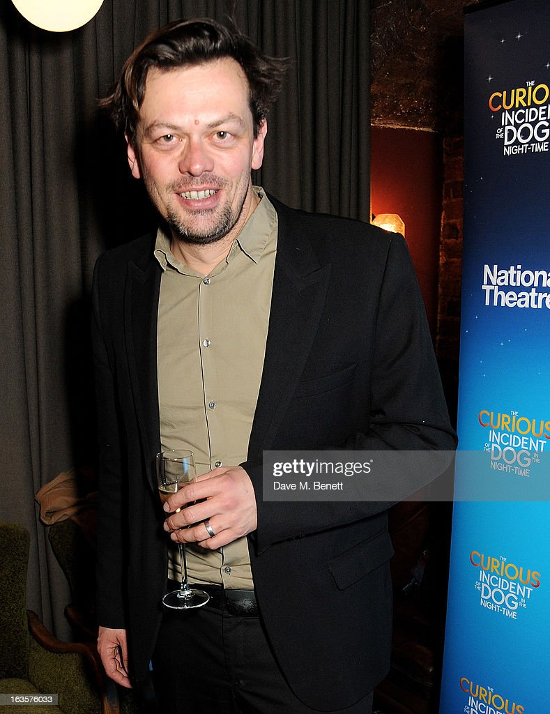 Playwright Simon Stephens attends an after party celebrating the press night performance of 'The Curious Incident of the Dog in the Night-Time' at Century on March 12, 2013 in London, England.