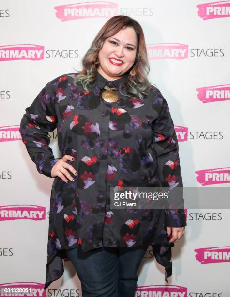Playwright Tanya Saracho attends 'Fade' Broadway opening night at Mr Dennehyâ on February 8 2017 in New York Cit