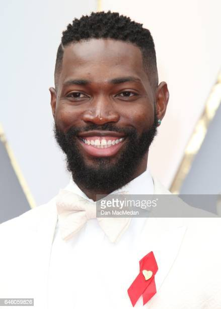 Playwright Tarell Alvin McCraney arrives at the 89th Annual Academy Awards at Hollywood Highland Center on February 26 2017 in Hollywood California