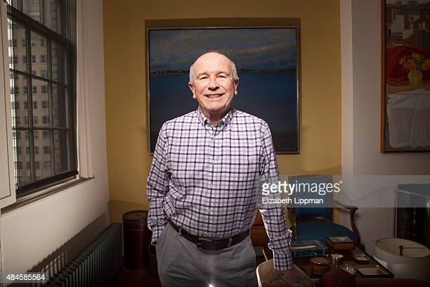 Playwright Terrence McNally is photographed for Boston Globe on May 1 2015 in New York City PUBLISHED IMAGE