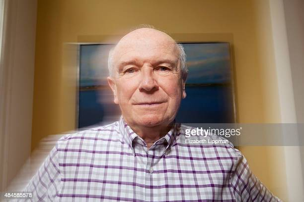 Playwright Terrence McNally is photographed for Boston Globe on May 1 2015 in New York City