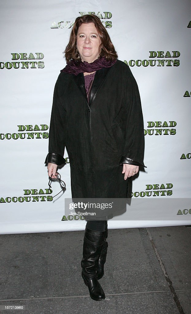playwright Theresa Rebeck attends 'Dead Accounts' Broadway Opening Night at Music Box Theatre on November 29, 2012 in New York City.