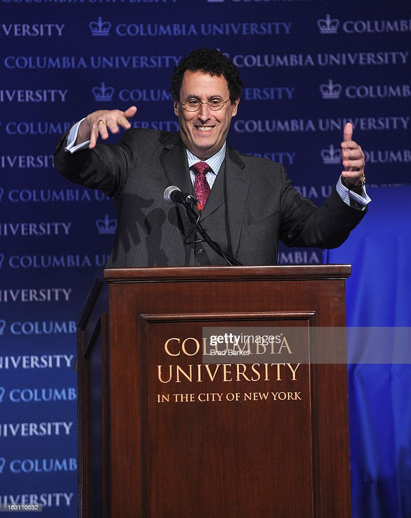 Playwright Tony Kushner attends the 2013 Edward M. Kennedy Prize For Drama Award Reception at Columbia University on March 4, 2013 in New York City.