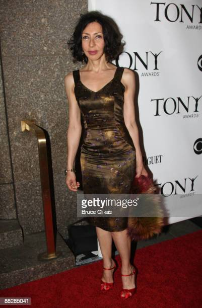 Playwright Yasmina Reza winner for God of Carnage attends the 63rd Annual Tony Awards at Radio City Music Hall on June 7 2009 in New York City