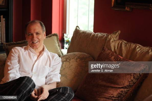 Playwright/Actor Charles Busch is photographed for Boston Globe on June 24 2011 in New York City Published Image