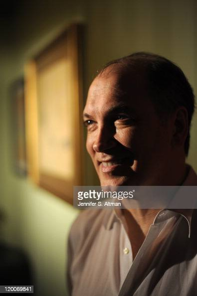Playwright/Actor Charles Busch is photographed for Boston Globe on June 24 2011 in New York City
