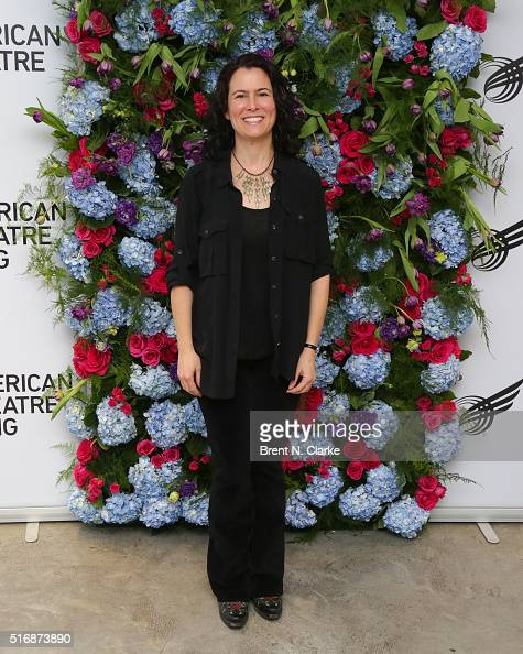 Playwright/grant recipient Carson Kreitzer attends the American Theatre Wing's Jonathan Larson grant presentations held at the Jerome Greene Space on...