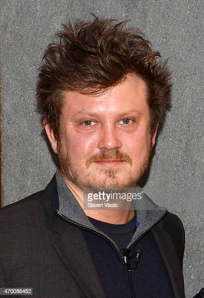 Playwright/screenwriter Beau Willimon attends Bloomberg Breakfast during the 2015 Tribeca Film Festival at Bloomberg Foundation Building on April 17...