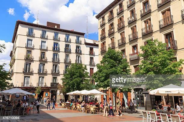 Plaza Chueca a Madrid, Spagna