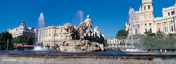 Plaza Cibeles and Fuente Cibeles, Madrid, Spain