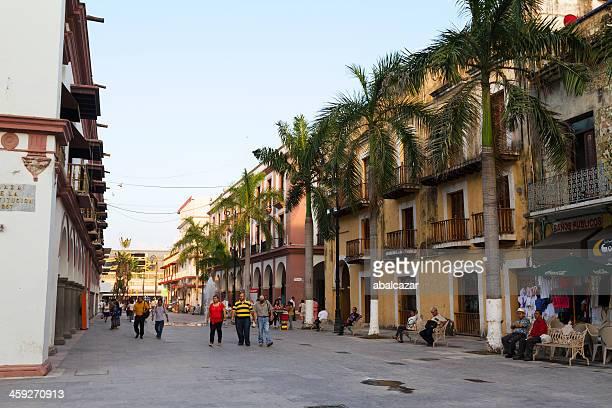 Plaza constitución Puerto de Veracruz