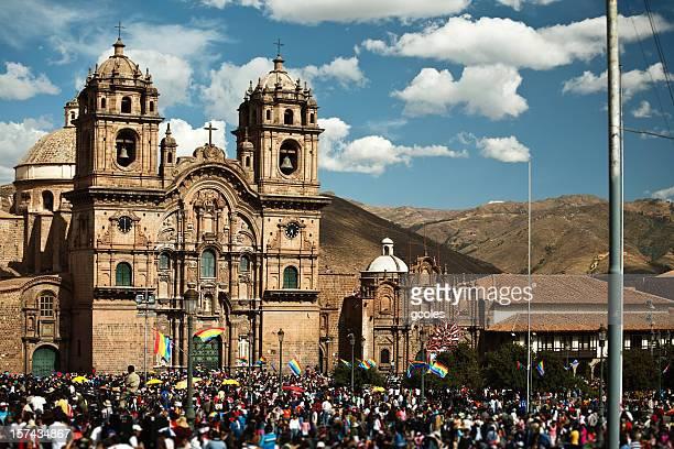 de de praça Armas, Cuzco Peru