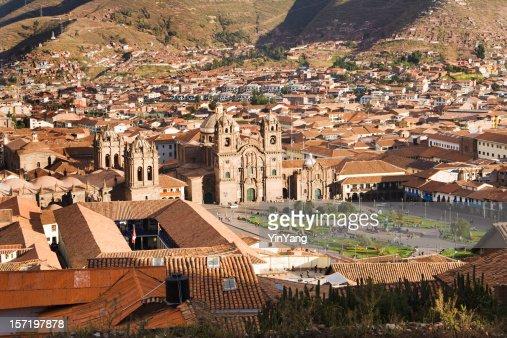 Plaza de Armas of Cuzco, Peru, Landscape of South America
