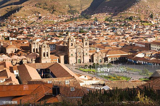 Plaza de Armas of Cuzco, Peru, Landscape of South America