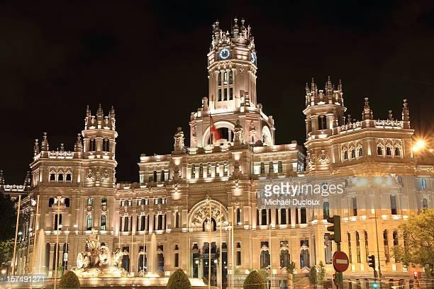 Plaza De Cibeles & City Hall Madrid España