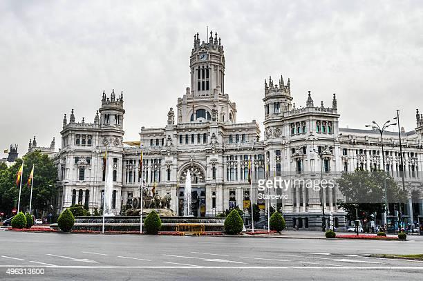 Plaza de Cibeles, Madrid, Spagna