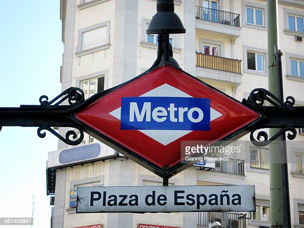 Plaza de Espana Metro station
