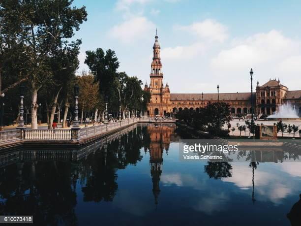 Plaza de Espana, Sevilla Andalucia