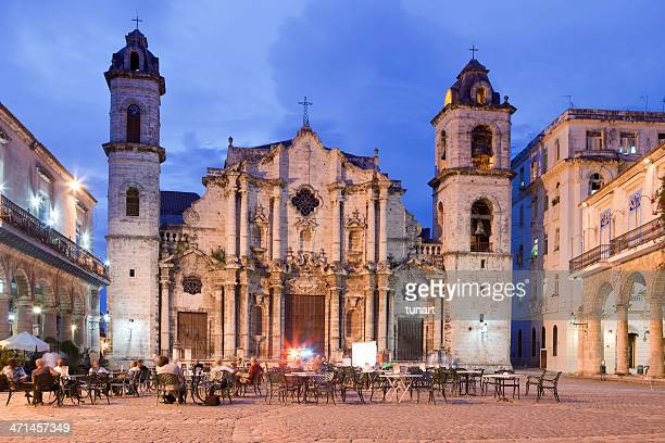 Plaza de la Catedral, de la Havane, Cuba