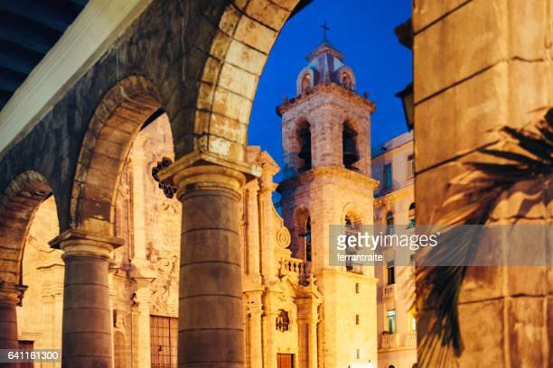 Plaza De La Catedral Havanna Kuba