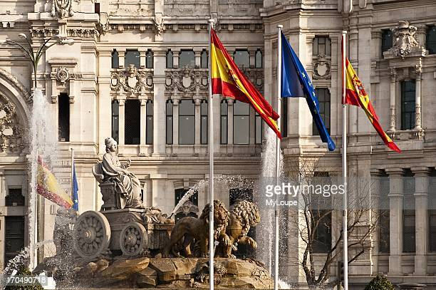 Plaza de la Cibeles Madrid Spain