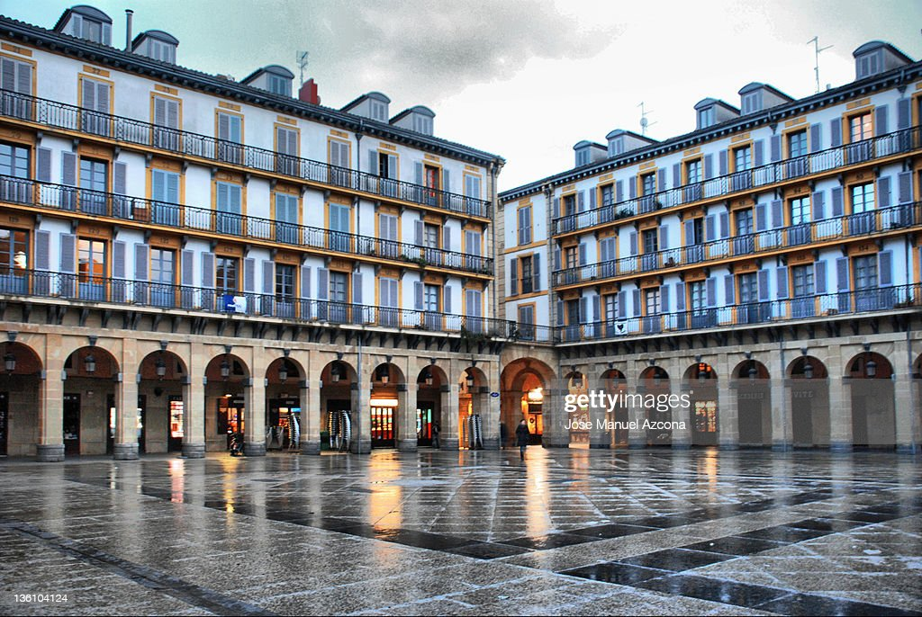 Plaza de la Constitucion, San Sebastian, Donostia