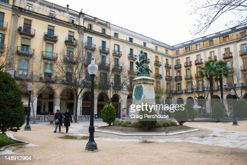 Plaza de la Independencia. : Stock Photo