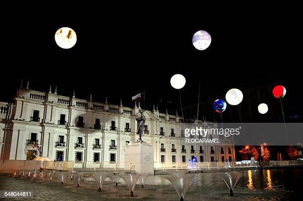 Plaza de la Moneda: Santiago de Chile